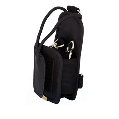 Nylon carry case with belt loop and removable shoulder strap